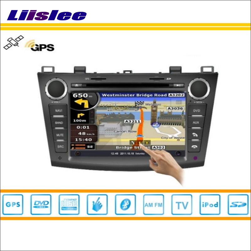 Liislee Car Android Multimedia For <font><b>Mazda</b></font> <font><b>3</b></font> 2010~2013 Radio CD DVD Player <font><b>GPS</b></font> Navi <font><b>Map</b></font> Navigation Audio Video Stereo S160 System image