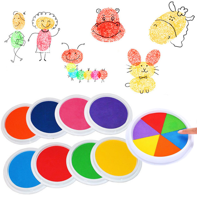 Funny Creative Painting Kids Drawing Print Education Craft