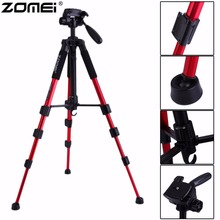 Original Zomei Portable Q111 Heavy Duty Aluminium Camera Tripod Stand For SLR Camera with Carrying bag Drop Shipping