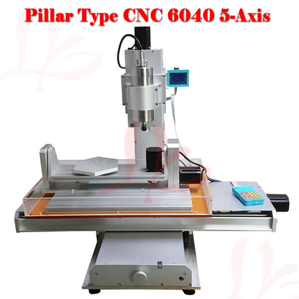 5 axis 6040 CNC milling machine with high performance for metal wood stone cutting high steady cost effective wood cutting mini cnc machine milling