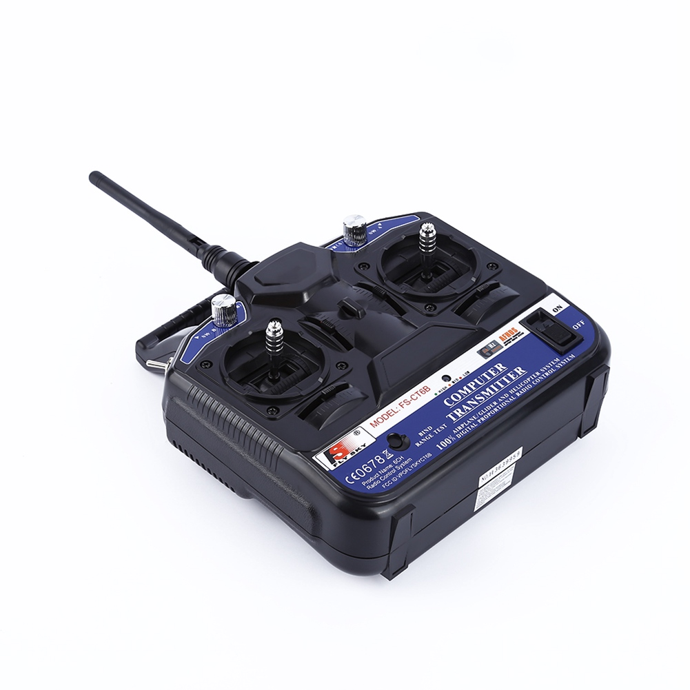 FLY SKY 2.4G FS-CT6B 6 CH Channel Radio Model RC Transmitter Receiver Control @ZJF sana salous radio propagation measurement and channel modelling