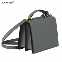 NEW Double Layer Women Fashionable Square Shape Single Shouder Bag PU Leather Messenger Versatile Bag Cross Shouldle Handbag