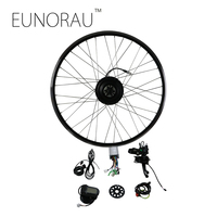 EUNORAU Electric Bike Conversion Kit 36V250W front E Bike Conversion Kit with 20'' 24''26''27.5'' 28'' rim