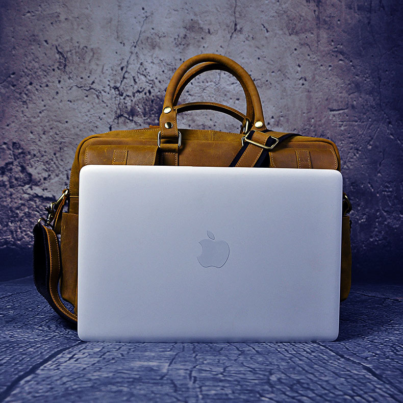 HTB1bR27dJbJ8KJjy1zjq6yqapXaC Original leather Men Fashion Handbag Business Briefcase Commercia Document Laptop Case Design Male Attache Portfolio Bag 3061-bu