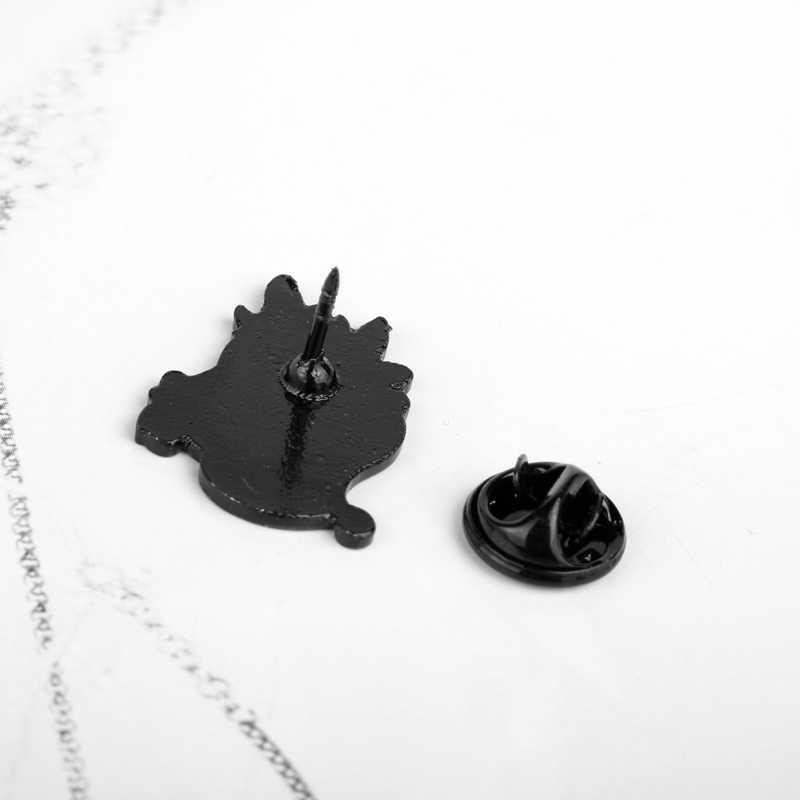 Como treinar O Seu Dragão De Metal Esmalte Pins e Broches para Mulheres Dos Homens de Lapela Pin Sacos Mochila Crachá Crianças Presentes