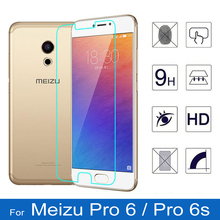 For Meizu Professional 6 Glass Professional 6S Display Protector Cellphone Movie Cowl for Meizu Pro6 M570h M570Q HD Tempered Glass for Meizu Professional 6s