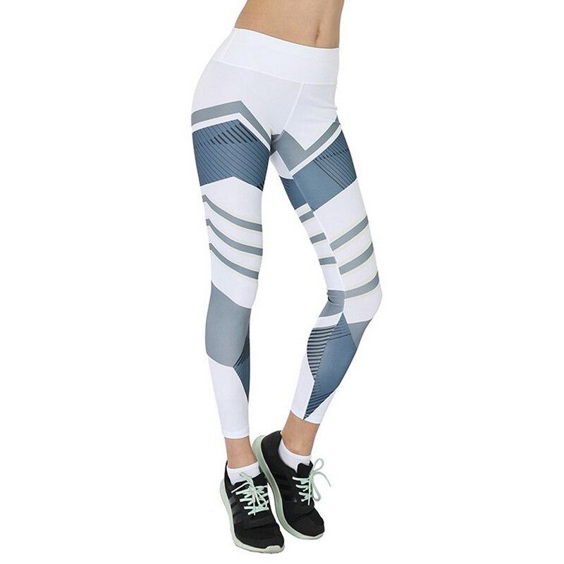 05cb70a2de2ff3 2019 Sexy Fitness Yoga Sport Pants Push Up Women Gym Running Leggings  jegging Tights High Waist print Pants Joggers Trousers