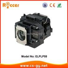 Совместимость лампы проектора лампа ELPLP58 V13H010L58 для Epson EB-S10 лампада проектор ELPLP-58