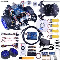 Miroad For Arduino Project Smart Robot Car Kit With Two Wheel Drives UNO R3 Board Link