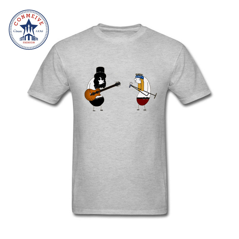 2017 Tops Unisex Guns N Roses Rock Funny T Shirt for men