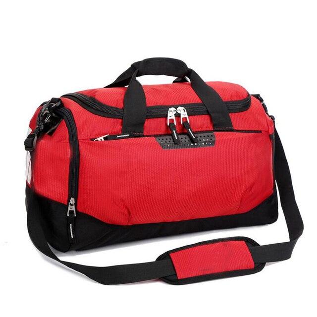 2016 бренд Водонепроницаемый дорожная сумка женщины и мужчины высокого качества Многофункциональный g y m мешок плюс размер Т дождь мешок