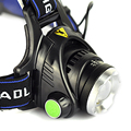 3 Modes Zoomable 2000 Lumens Headlight XM-L T6 LED Head Flashlight Torch Fashion Style Headlamp Lantern For Outdoor Hiking