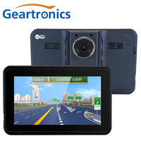 Car Gps Navigation Android 7 Inch Touch Screen Navigator With Wifi G Sensor DVR Full HD