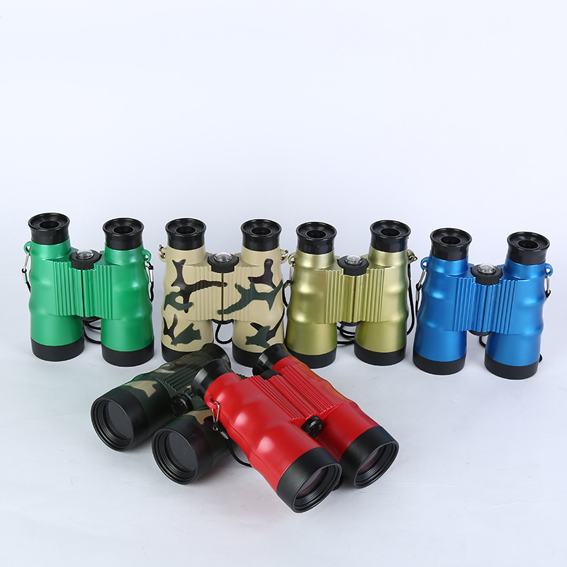 6X36 Folding Binoculars Telescope For Kids Toys Birthday Gift Outdoor Camping Tools Travelling Bird Watching Zoom Field Glasses