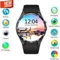 2016 Lemfo KW88 MTK6580 SO Android 5.1 Relógio Inteligente Telefone 400*400 Tela quad core Suporte SIM smartwatch pedômetro freqüência cardíaca