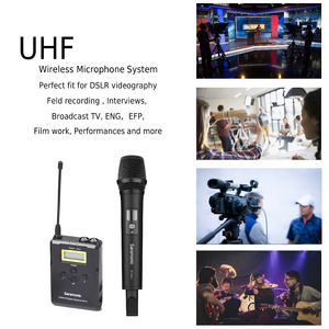 Image 2 - Saramonic Uwmic15A système dentretien portable sans fil UHF Microphone pour enregistrement vidéo, Nikon ,Canon
