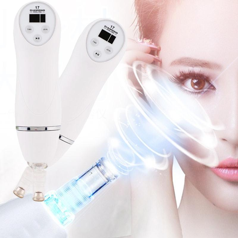 Strong Absorption Electric Facial Pore Cleanser Vacuum Blackhead Removal Sucker Acne Remover Face Massage Skin Care deep face cleansing brush facial cleanser 2 speeds electric face wash machine