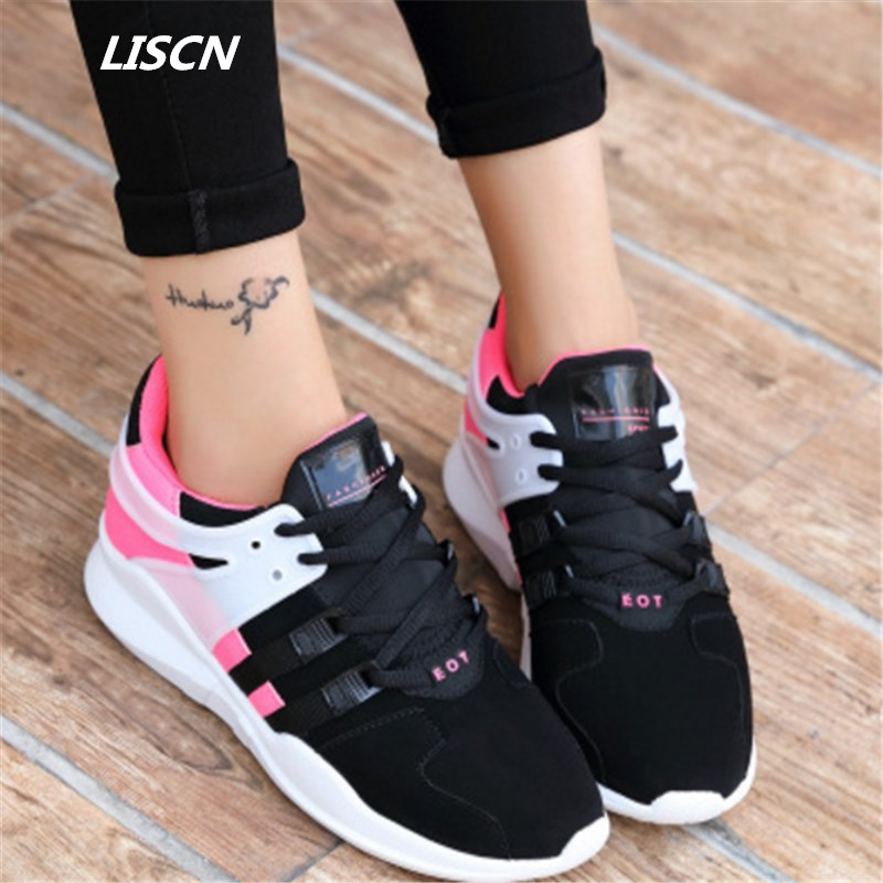 Size 35-44 High quality fashion Women Casual shoes Breathable Air mesh Walking Shoes zapatos mujer hombres tenis feminino women shoes casual shoes lightweight summer beach flats shoes women loafers breathable air mesh zapatos mujer tenis feminino u1