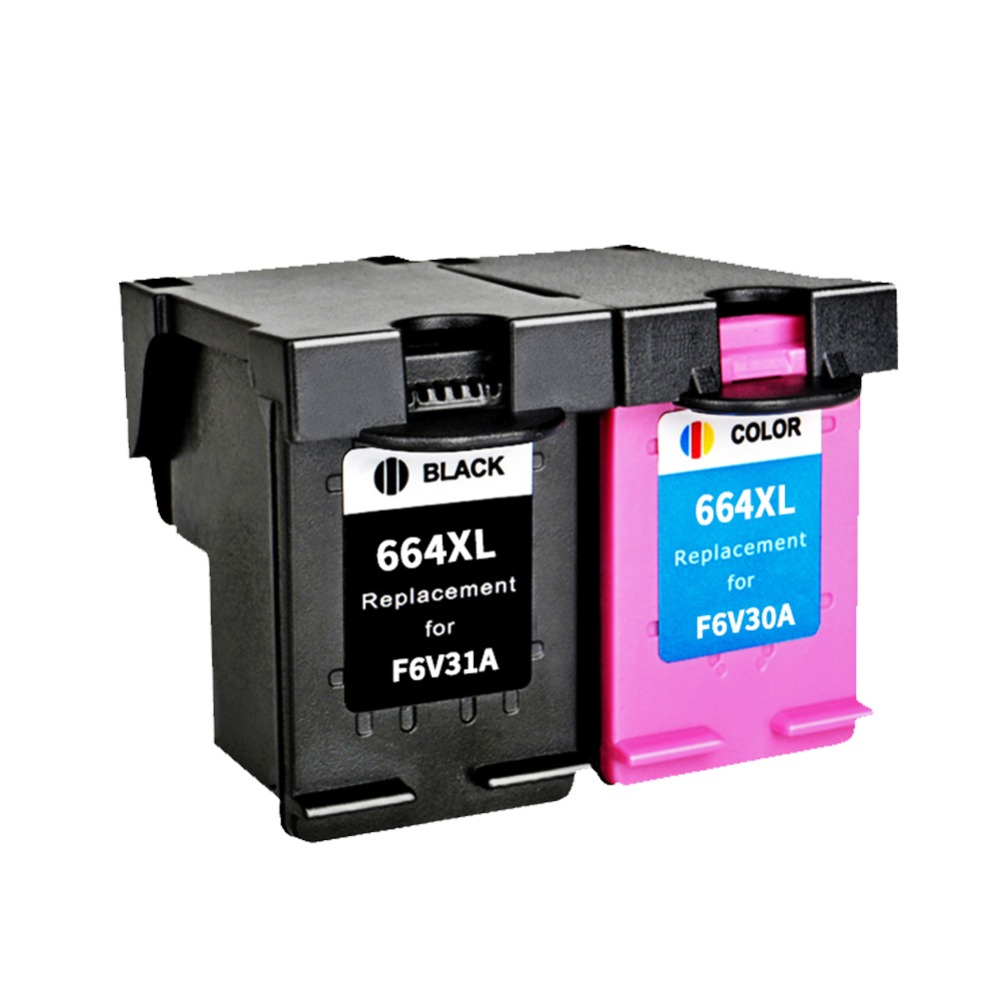 2PK Compatible <font><b>Ink</b></font> Cartridge 664 664XL for <font><b>HP</b></font> Deskjet <font><b>1115</b></font> 2135 3635 1118 2138 3636 3638 4536 4676 printer image