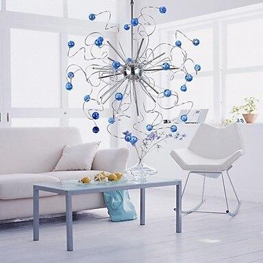 2015 Drawing room living room bed room Crystal Floral 15-light Pendant lights