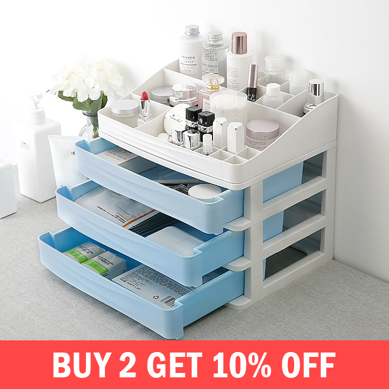 Container Storage-Box Makeup-Organizer Lipstick Jewelry Cosmetic Drawer Sundry-Holder-Accessories