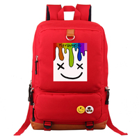 Fashion DJ Marshmello Women Girls Backpack Bag Students School Travel Casual Backpack Laptop Bag