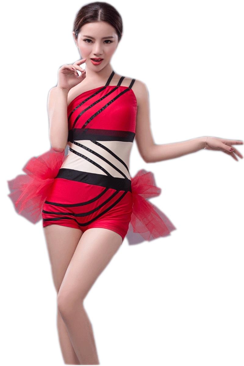 أزياء مثير ازياء المغني الحديثة الجاز ملابس الرقص الملابس والأزياء قاعة الرقص اللباس النساء الرقص اللباس للبنات