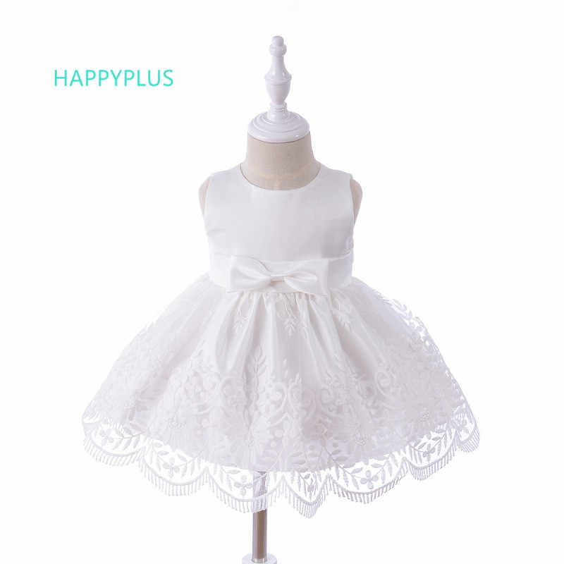e386740ce14f7 HAPPYPLUS Pink Beige Christening Dress for Baby Girl Gown Bridesmaid Infant  1st 2nd Birthday Baby Dress New Born Girl Clothes