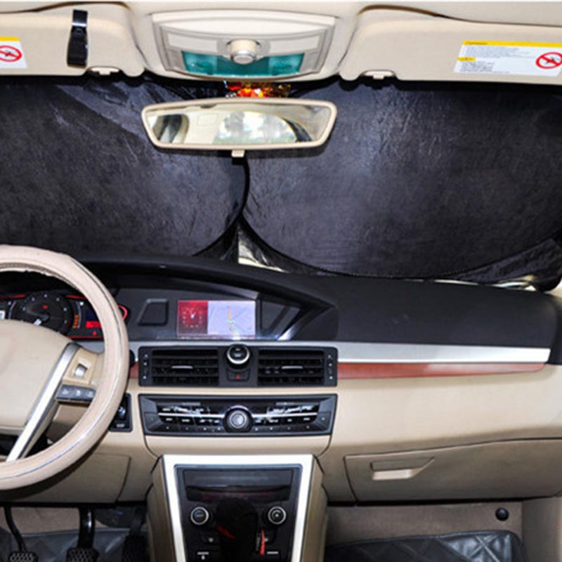Foldable Car Windshield Sunshade Large Front Window Visor Block Cover SUV Sun Shade NR-shipping