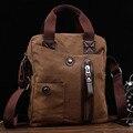 2016 New Men Messenger Bags Canvas Vintage Bag Men Shoulder Crossbody Bags for Man Brown  Designer Handbags Bolso