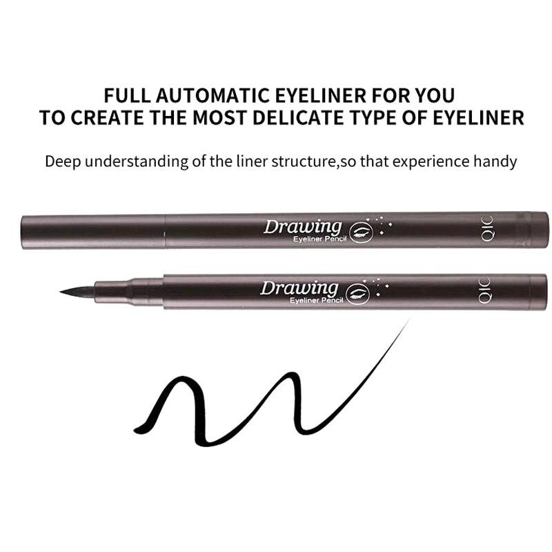 QIC new pieces Waterproof Eyeliner Liquid Eye Liner Pen Style Black Long-lasting Pencil Makeup Cosmetic Beauty Tool Wholesale