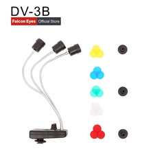 Falcon Eyes тройной 3 светодиодный волшебный фоновый светильник для макросъемки/фотосъемки ювелирных изделий/фото/Youtube DV-3B