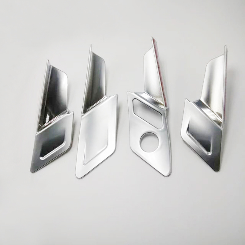 Left Hand Drive! For VW Volkswagen Golf 7 MK7 2014-2018 ABS Matte Interior Door Handle Bowl Frame Cover Trim 4pcs Car Styling