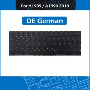 "Image 1 - מלא חדש A1989 A1990 דה גרמנית מקלדת עבור Macbook Pro רשתית 13 ""15"" A1989 A1990 GER גרמניה מקלדת החלפת EMC3214 3215"