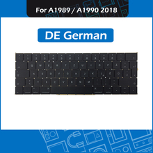 """Full New A1989 A1990 DE German Keyboard for Macbook Pro Retina 13"""" 15"""" A1989 A1990 GER Germany Keyboard Replacement EMC3214 3215"""