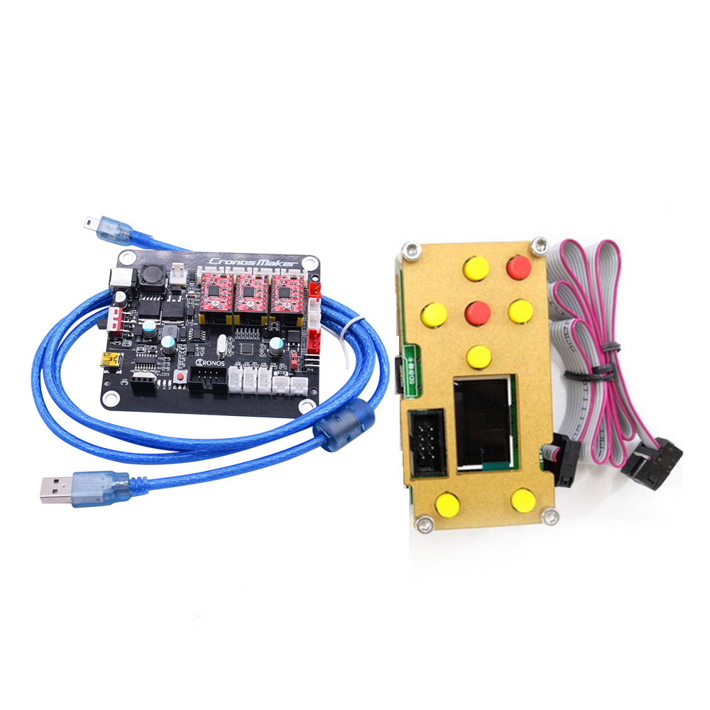 CNC Machine Offline Controller Board,1610,2418,3018 GRBL 0.9J,USB Port CNC Engraving Machine Control Board,3 Axis Controller