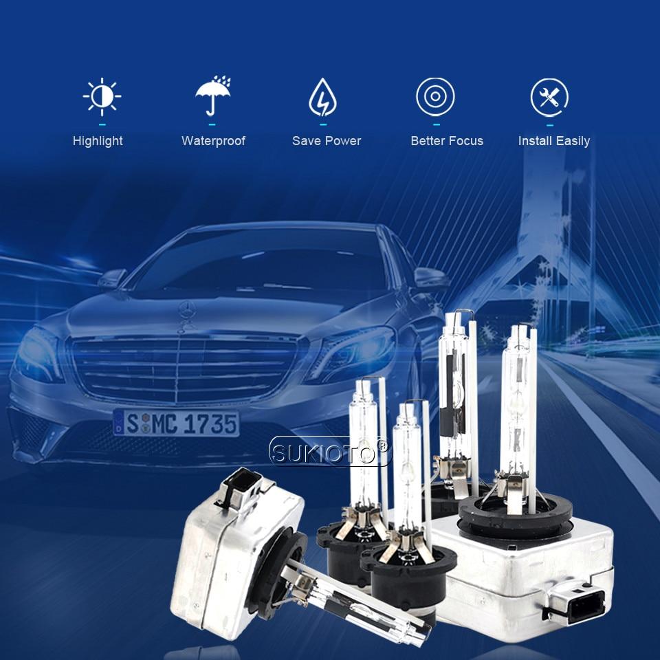 SUKIOTO Factory Store D1S D2S D3S D4S 5000K Car headlight