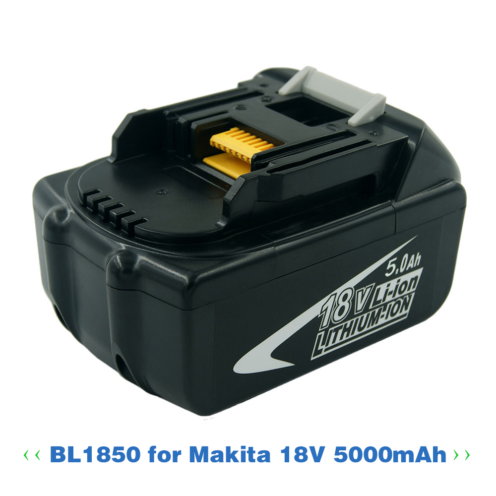 New Replacement 5000mah 18V 5.0 Ah Lithium Power tools battery For Makita 18V BL1840 BL1850 LXT400 194230-4 BL1815  BL1830(China)