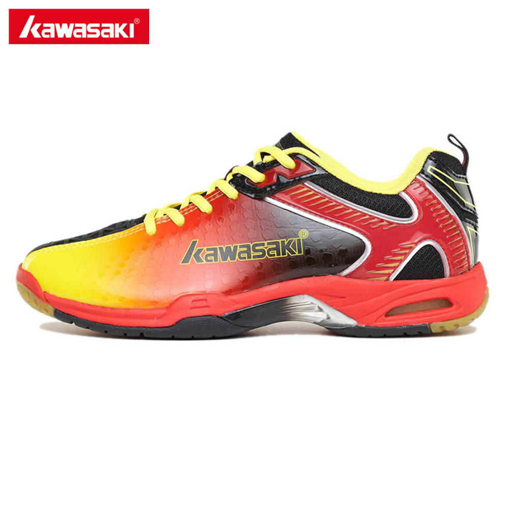 Kawasaki Brand Sneakers Professional Badminton Shoes for Women Men Sports Shoes Anti-Slippery Breathable K-506 507 professional brand kawasaki badminton shoes 2017 sport sneakers for men women anti slippery pvc floor sports shoe k 065 k 066