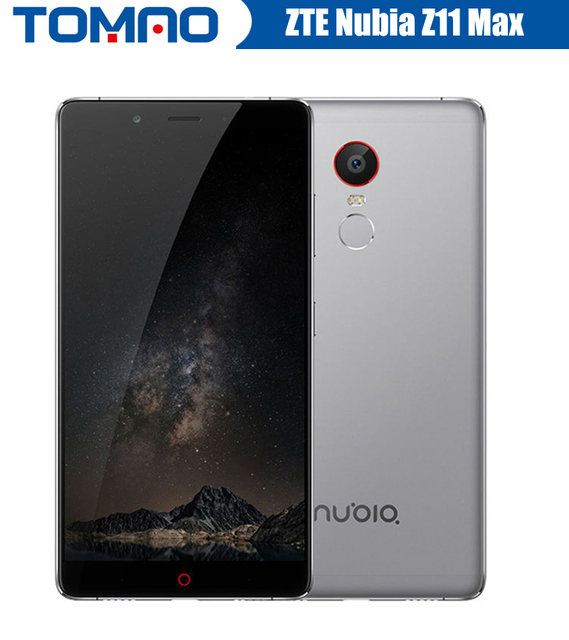 Original ZTE Nubia Z11 Max 4G LTE Mobile Phone Octa Core 6.0″ 1080P 3/4GB RAM 64GB ROM 16.0MP 4000mAh Fingerprint ID