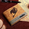 PU wallet printed with Japan Anime Fairy Tail Magic Association mark