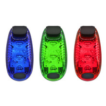 Cycling Bicycle Lights Bicycle Part Multi-function LED Safety Light Clip On Running Lights Reflective Gear Nighttime Cycling LED cheap RIDECYLE Seatpost Battery ABS environmental protection material About 5 6cm * 2 8cm * 1 8cm 2 20 * 1 10 * 0 71in Always on mode flash mode slow flash mode