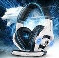 Оригинал Sades SA-903 Pro Gaming Headset 7.1 Канала USB Наушников Микрофоном Шумоизоляции ПК Компьютерная Игра Наушники Бас Наушники