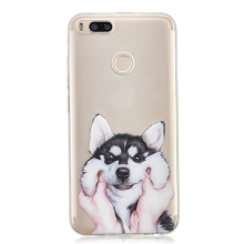 Case on Xiaomi Mi A1 Cover Cute Panda Dog Cut Transparent Silicone Phone Case for Funda Xiaomi Mi A1 mia1 Mi 5X Mi-A1 Case women цена и фото