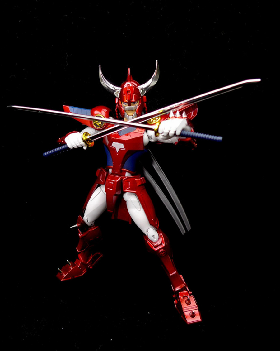 COMIC CLUB INSTOCK DT model Ronin Warriors Yoroiden Samurai Trooper Ryo Sanada Metal Cloth Armor Plus