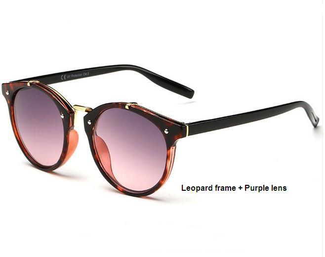 N11 tikri saulės akiniai, vyriški, retro, apvalūs saulės akiniai, - Drabužių priedai - Nuotrauka 4