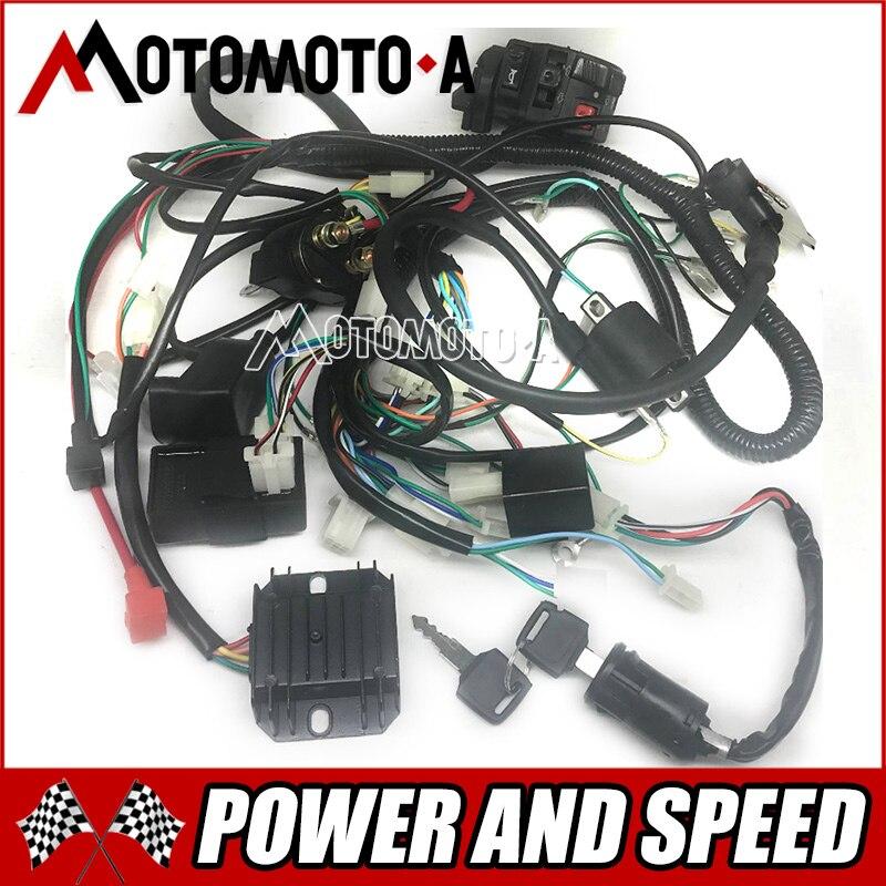 ZONGSHEN LONCIN LIFAN 150cc 200cc 250cc ATV GY6 150cc 200cc Quad Electrique Pieces Fil Cable CDI