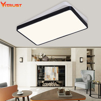 The New Ultra Thin Bedroom Lamp Rectangular Living Room Ceiling Lamps Lamp Iron Lamp LED Modern