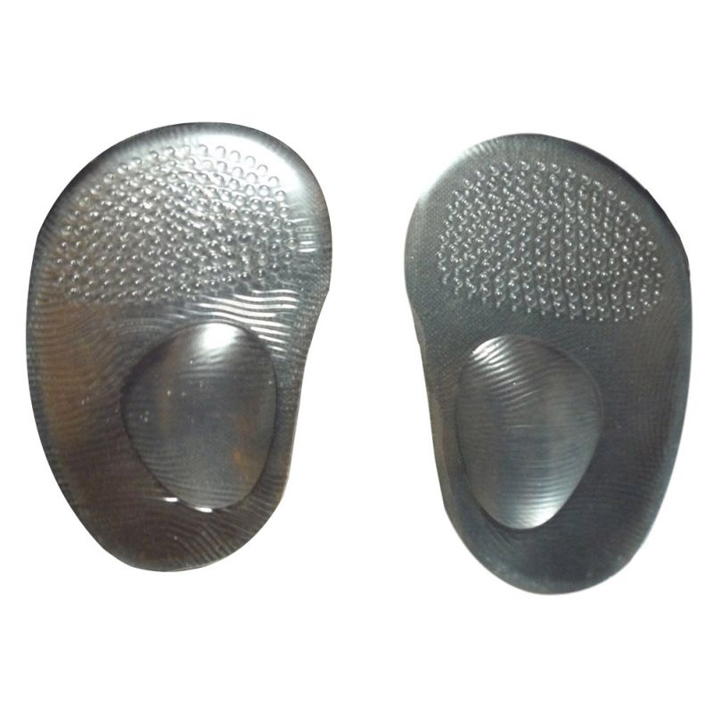 NewTransparent Silicone Forefoot Care Shoe Insert Insole Non-Slip Arch Support Pads xgrj