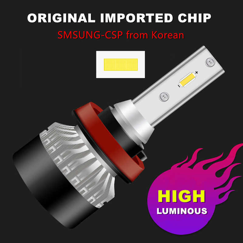 INLONG 2Pcs H7 H4 LED Headlight Bulbs  H11 H1 H3 9005 9006 Samsung Chip 6000K 10000LM Car Led Auto Headlamp Headlight Fog Light